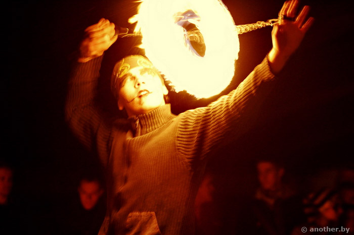 Halloween, photo,  fireshow, Хэллоуин